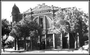 Historic picture of Azusa City Hall