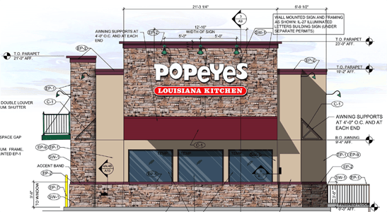 Popeyes Louisina Kitchen