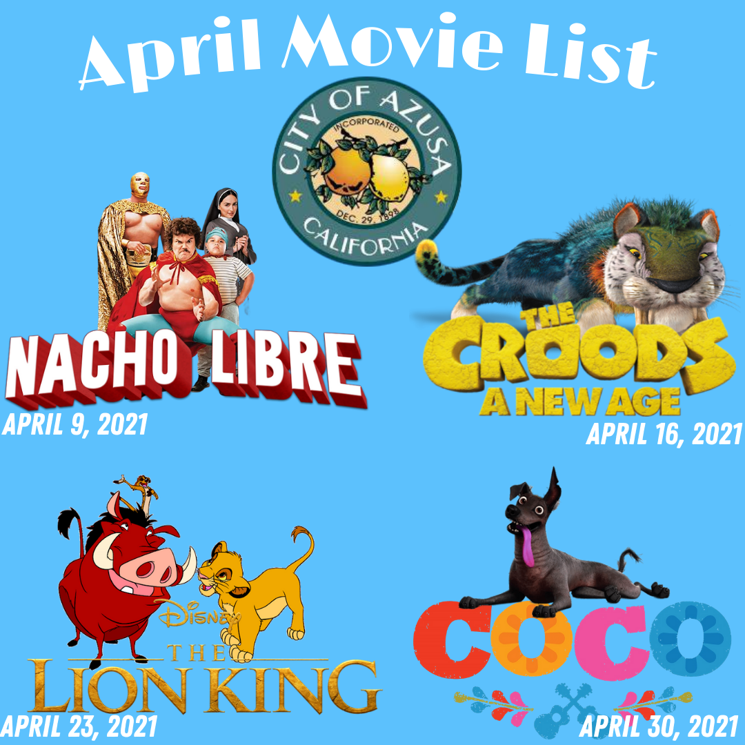 April Drive in movie list